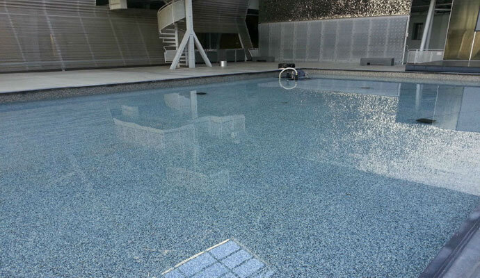 Residential Pool Concrete Sealing