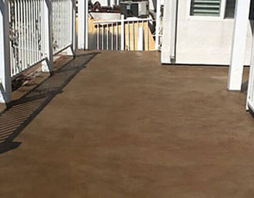 Deck Water Sealing