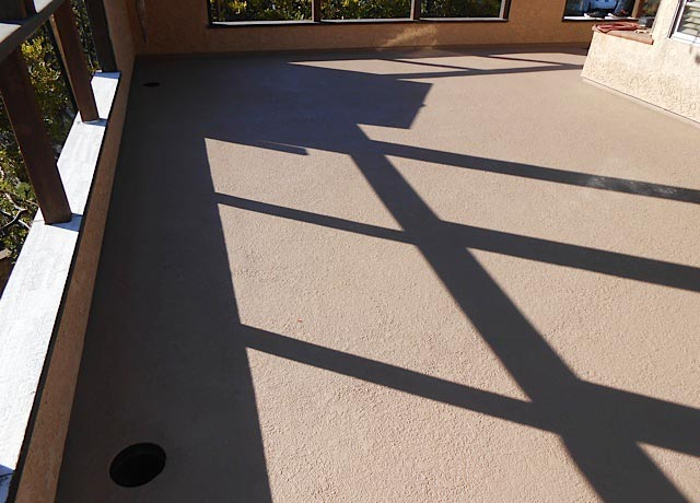Cypress Concrete Roof Water Sealing