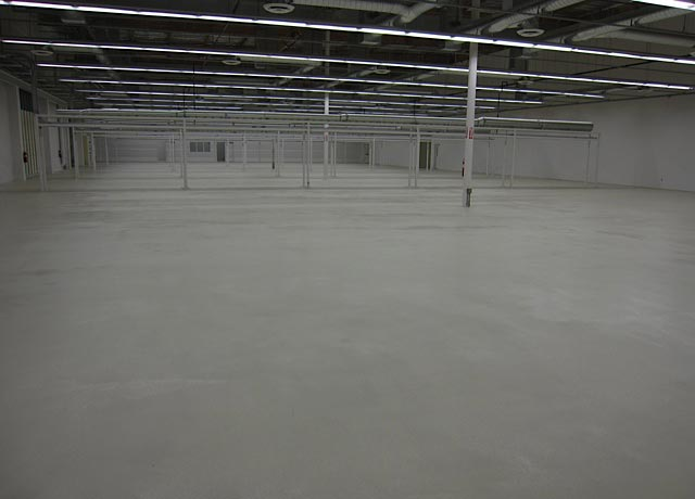 LA Commercial Epoxy Floor Coating
