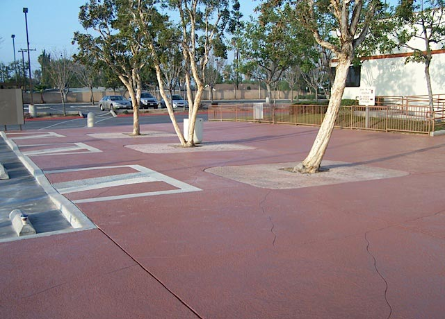 Parking Lot Concrete Coating