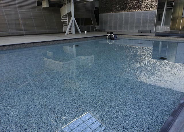 Swimming Pool Epoxy Floor Maintenance