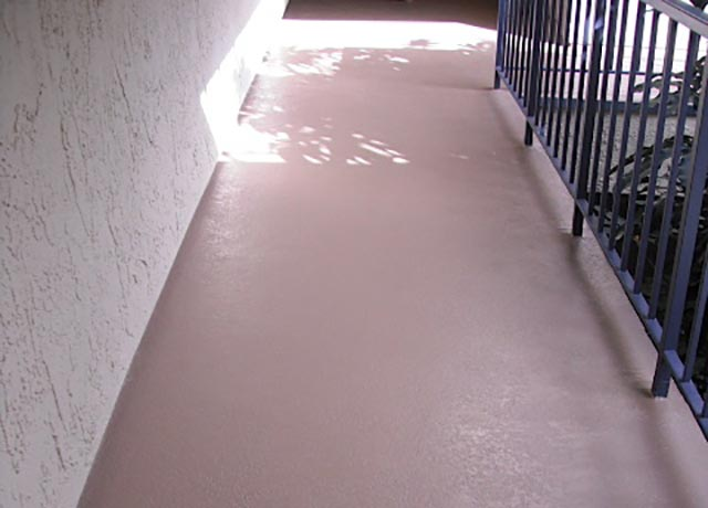 Home Exterior Epoxy Floor Surfacing