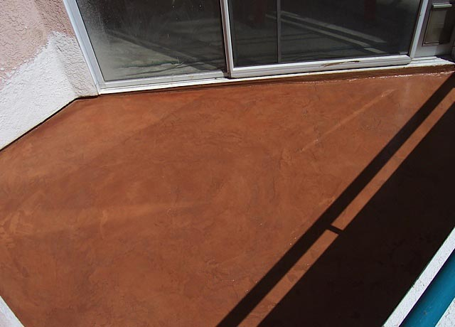 Yorba Linda Decorative Floor Finishes Option
