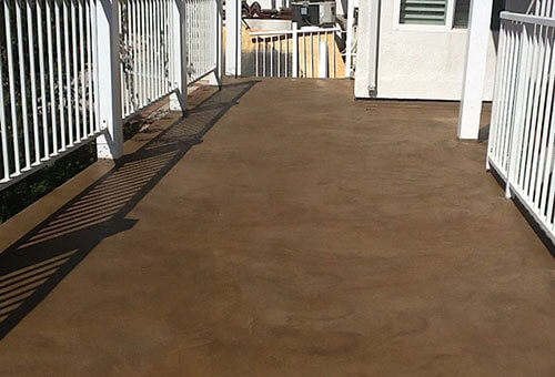 Balcony Deck Waterproofing