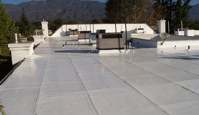 Energy Savings Roof Installation
