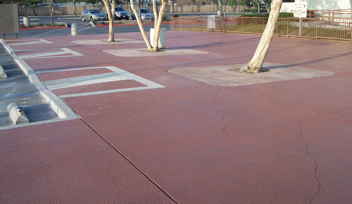 Business Parking Concrete Waterproofing