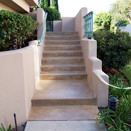 Outdoor Stair Coating Service